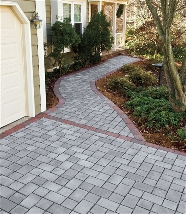 Permeable Paver Walkway Images - EP Henry